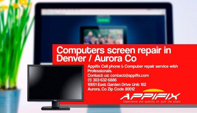 Computer screen repair Denver / Aurora Co