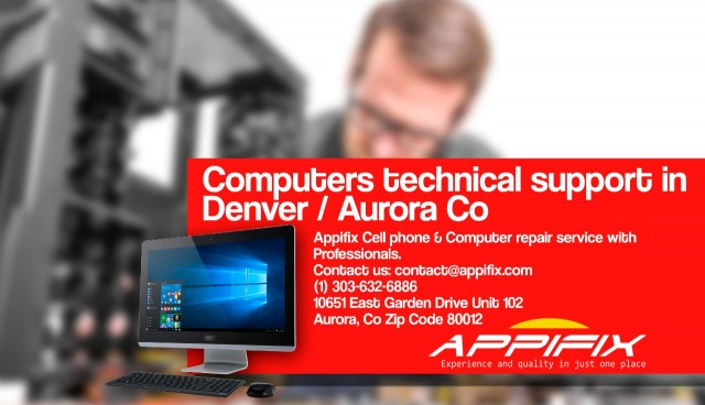 Computers technical support Denver Aurora Co