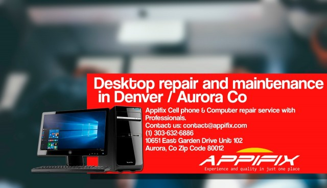 Desktop repair Denver / Aurora Co