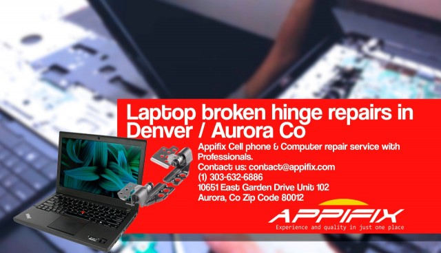 Laptop broken hinge repair Denver / Aurora Co