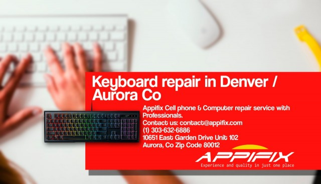 Laptop keyboard repair Denver / Aurora Co