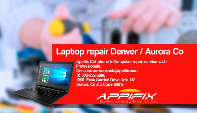 Laptop repair Denver / Aurora Co
