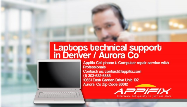 Laptop technical support Denver Aurora Co
