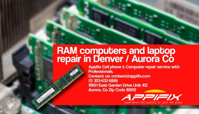 RAM Computers and laptop repair Denver / Aurora Co
