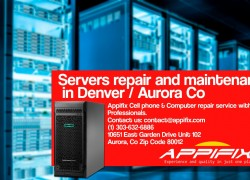 Servers repair Denver / Aurora Co