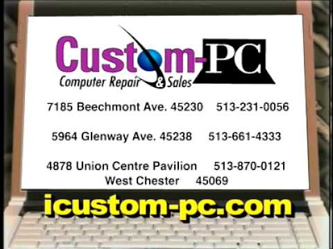Custom PC Computers 2009 Commercial