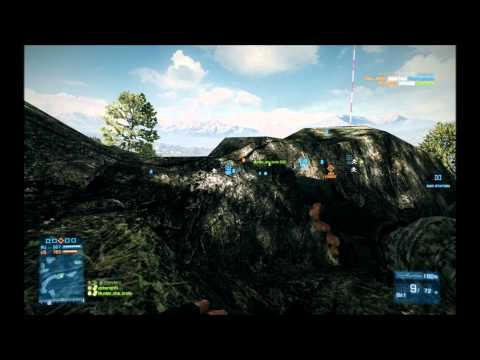 BF3 Caspian Border kills - Headshots - Longshots