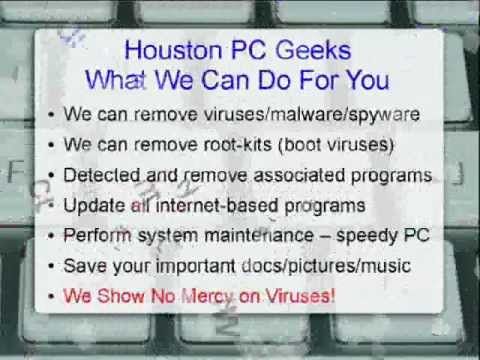 Computer Virus Removal Specialists